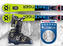 Ski Rental Santa Cristina and Selva Val Gardena Intersport