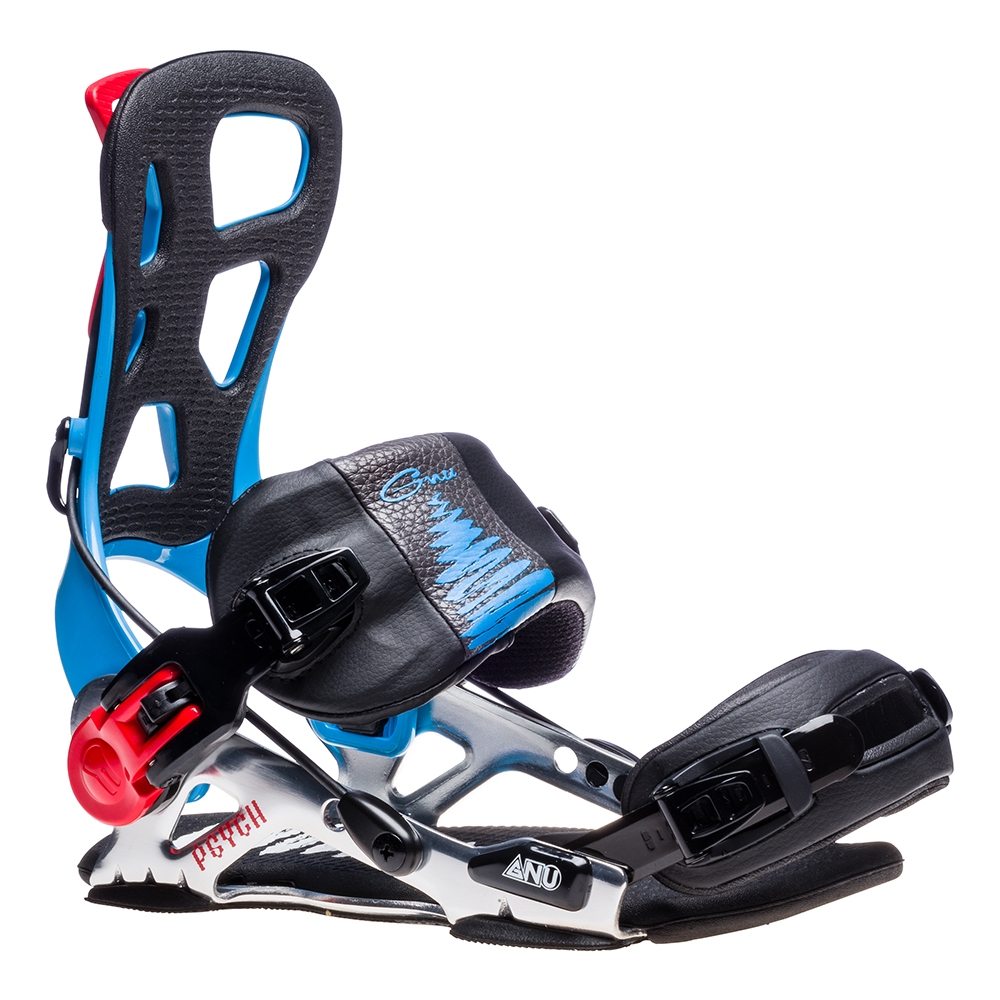 Gnu Psych Snowboard Binding Blue (2019) › INTERSPORT Rent