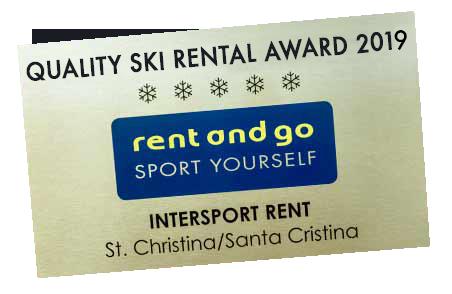 Intersport Rent Online Ski Rental in S. Cristina and Selva